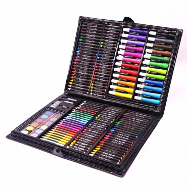 Комплект за рисуване 168 части в черно куфарче
