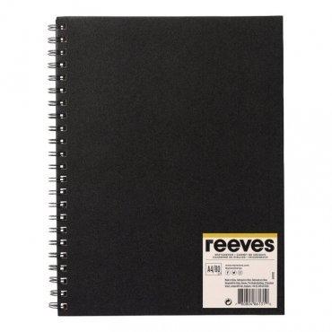 Скицник на спирала за графика и пастел 80 листа А4  Reeves