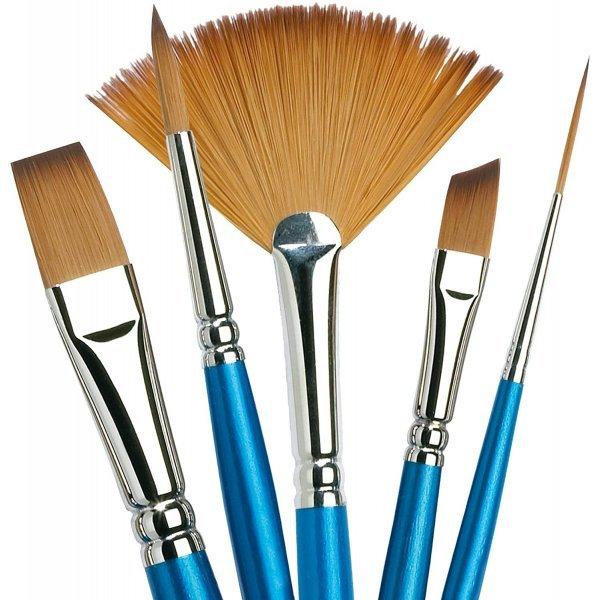 Единична Четка за рисуване WINSOR & NEWTON Cotman синтетичен косъм