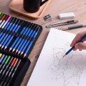 Професионален комплект за рисуване и чертане 71 части