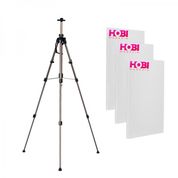 HOBI комплект Статив + 3 платна