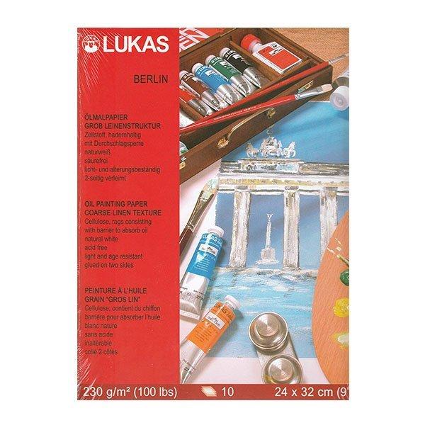 Блок за Рисуване с Маслени Бои LUKAS A4 10 листа