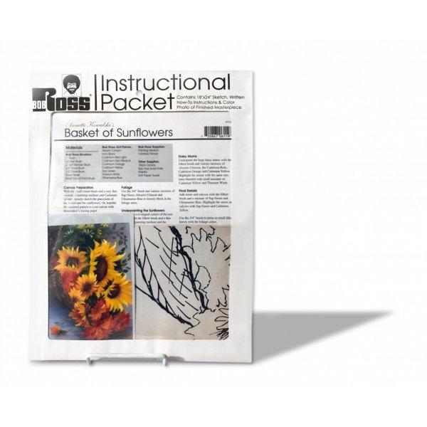 Картини за оцветяване Bob Ross How- To Painting Packet